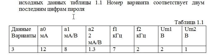 Контрольная ТЭС вариант 03