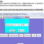 Лабораторная работа №5 Исследование эффективности устройств защиты от ошибок в дискретном канале передачи информации