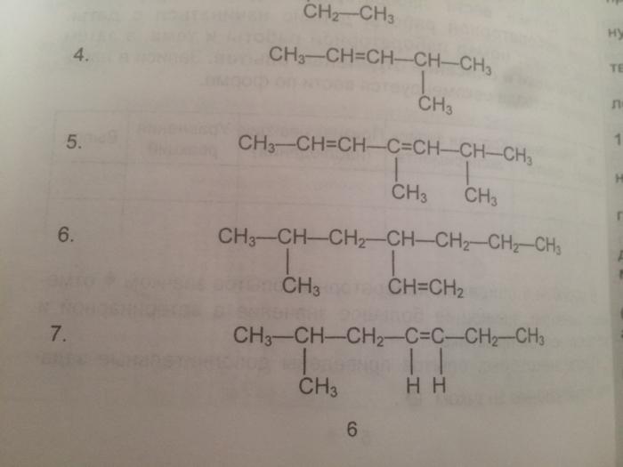 Контрольная Органическая Химия 05 вариант «Назовите  …